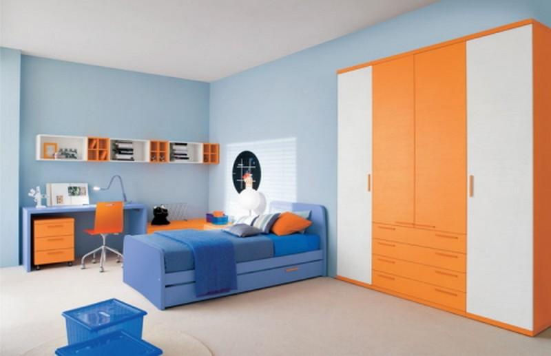 Идеи для детской комнаты. 50 приятных примеров мебель из кит.