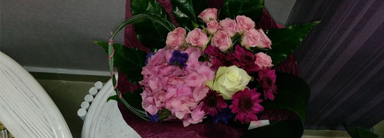 Бутик за цветя Violet