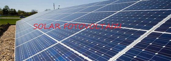 Solar & Fotovoltaizi
